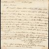 Catharine Macaulay autograph letter (copy) signed to Mary Wollstonecraft, 30 December 1790