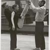 Jerome Robbins (right) choreographing The Concert, no. 315