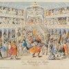 Die Maskerade im Theater, grosses Divertissement von Henry (letzte Scene)