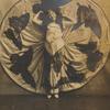 Loie Fuller displaying circular dress