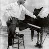Nijinsky studying a piano score.
