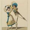 Costumes de Mazillier et de Melle. Florentine dans Faust, drame, acte Ier, scène IX, Th. de la Porte St. Martin
