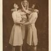 Nijinsky, Karsavina and Ludmilla Shollar in 'Jeux.'