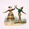 Mr. Font et Mme. Dubinon dans la danse Corralleros de Sevilla