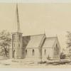 [Perspective View of Wooden Church.]
