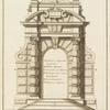 Cours d'architecture qui comprend les Ordres de Vignole.