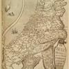 Frontispiece of De Bello Belgico. [Map of the Seventeen Provinces in shape of a lion.]