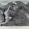Theseus asks the answer to the Riddle of the Sphinx. (From the painting by Walter Crane.)