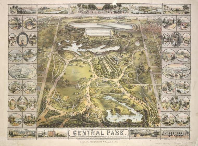 Central Park Digital ID: ps_map_cd1_07. New York Public Library