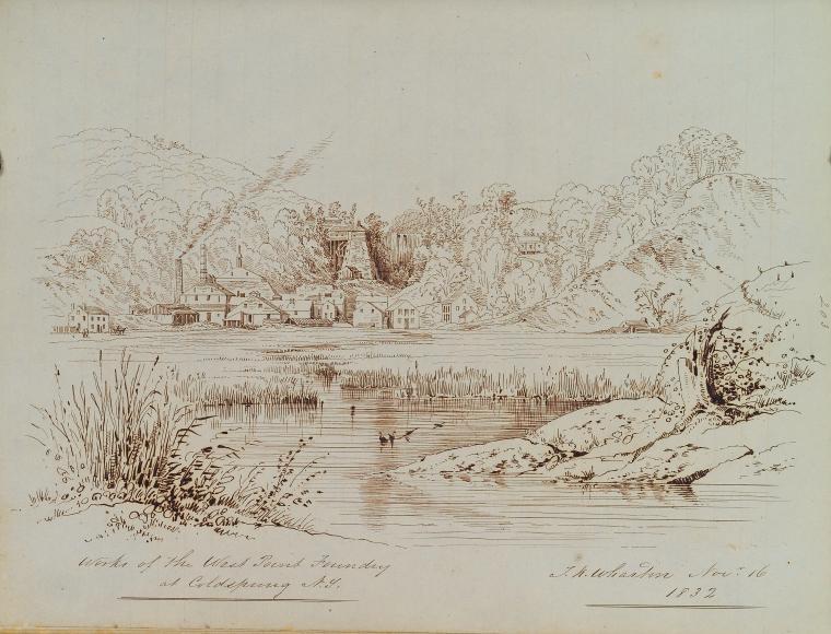 Fascinating Historical Picture of Thomas Kelah Wharton on 11/16/1832
