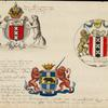 Coats of arms of New Amsterdam and New Netherland