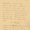 Letter from W. Butler Yeats to John Quinn, March 11, 1914