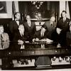 Governor Driscoll signing S-189, Chapter 461
