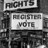 Gay Rights, Register to vote: Billboards at the corner of Christopher St. and Seventh Ave., Greenwich Village, New York