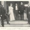 Ambassador Witte, Mrs. Frederick Dent Grant, T.J. Oakley Rhinelander, Gen. Frederick Dent Grant, and Baron Rosen