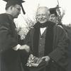 Gilbert Montague in academic robes
