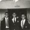 Florida. Martin Duberman with Eddie Landau and Ralph Brozan. Late 40s