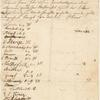 Immanuel Kant Letter in German. List of Susbcribers to Lectures, Lectures by Kant, 1773