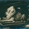 Studio Photograph of Library Lion (right view)