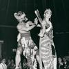 Dancers entertain during show at the restaurant in the Pavillion of Indonesia at the New York World's Fair 1964-1965.