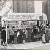 Bookmobile, Bronx, 1950s