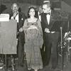 Sy Oliver, Lillian Clark, and Jack Leonard in performance with the Tommy Dorsey Orchestra