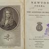 Newton; poema, [Frontispiece & title page]