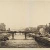 Paris, vue prise du Pont de la Concorde (3rd state).