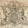[Bookplate for] George III.