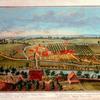 A view of Bethlehem, one of the Brethern's principal settlements, in Pensylvania, North America = Vue de Betlehem, l'un des principaux établissement des Frères Moraves en Pensilvanie, Amérique septentrionale.