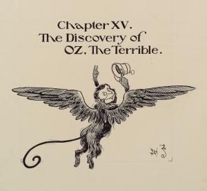 "Chapter XV. ""The Discovery of OZ The Terrible."""