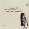 Chapter XI, The Wonderful Emerald City of Oz