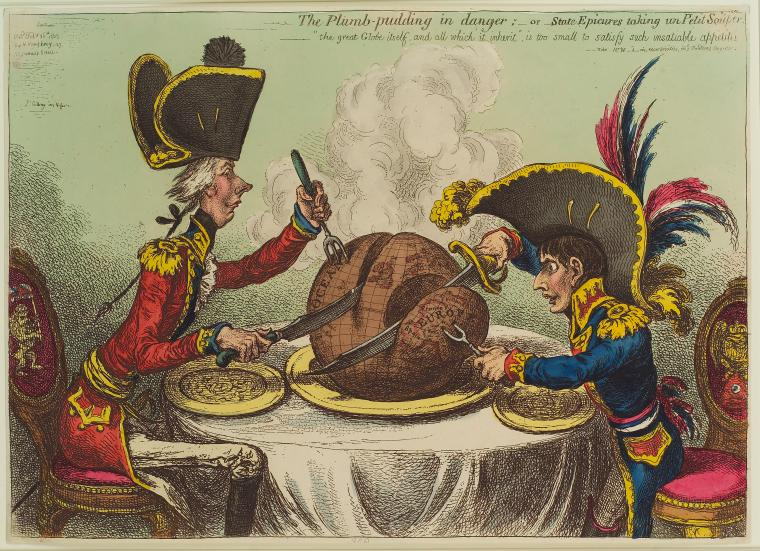 Fascinating Historical Picture of James Gillray on 2/26/1805