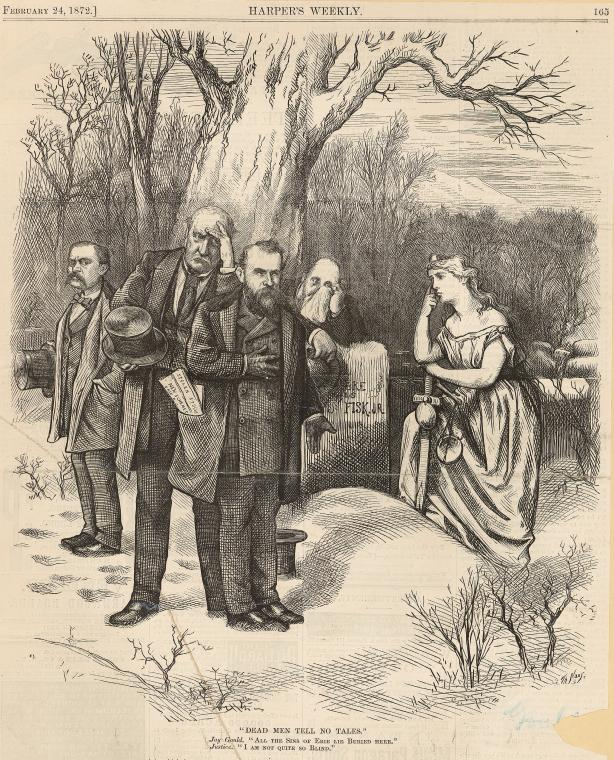 Fascinating Historical Picture of Thomas Nast on 2/24/1872