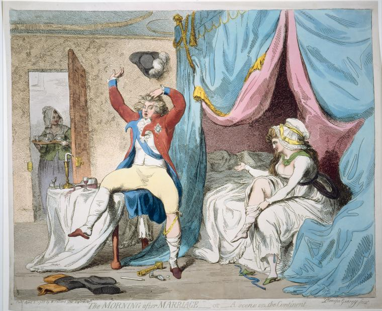 Fascinating Historical Picture of James Gillray on 4/5/1788