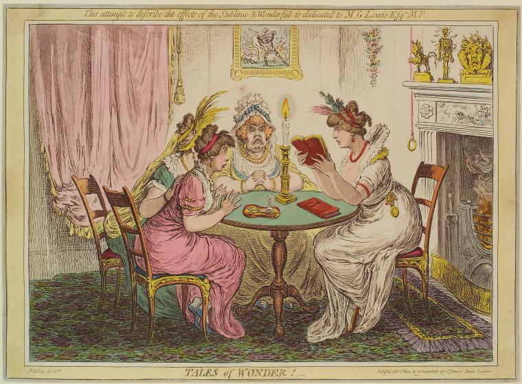 Fascinating Historical Picture of James Gillray on 2/1/1802