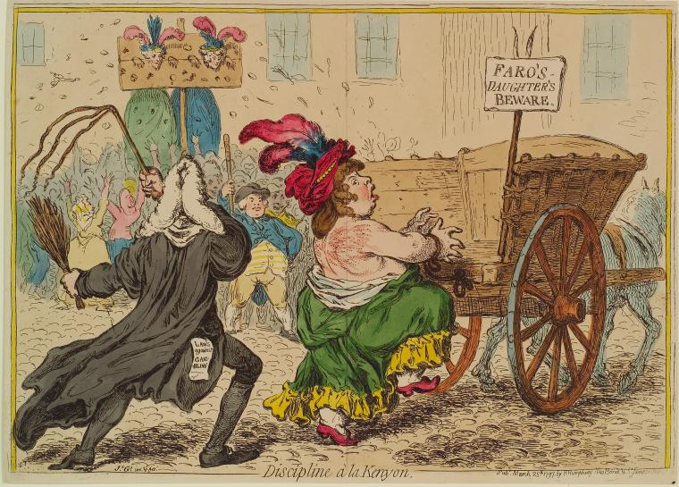 Fascinating Historical Picture of James Gillray on 3/27/1797