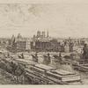 Vue prise du Louvre.