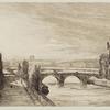 Vue de la Seine, Arc de Triomphe.
