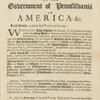 The frame of the government of Pennsilvania in America, &c.