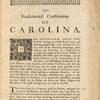 The fundamental constitutions of Carolina.