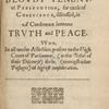 The blovdy tenent, of persecution, for cause of conscience, title page