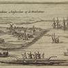 T'Fort Nieuw Amsterdam op de Manhatans.