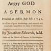 Sinners in the hands of an angry God. [title page].