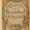The book of household management [paper cover]