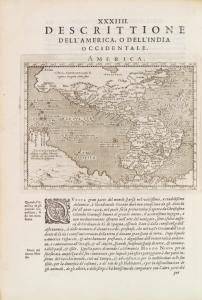 XXXIIII, Descrittione Dell'America