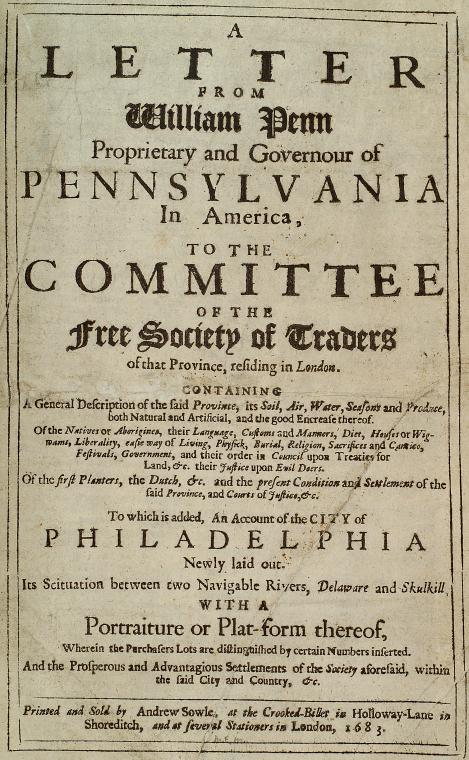 Fascinating Historical Picture of William Penn in 1683