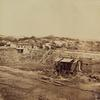 Summer house East from 8th Ave. August 28, 1862.