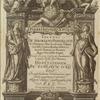 D. Philip. IV. Hisp. et Ind. regi opt. max. Ioannes de Solorzano Pereira ... dispvatationem de Indiarvm ivre, sive De iusta Indiarum Occidentalium inquisitione [title page]