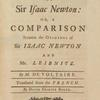 The metaphysics of Sir Isaac Newton [title page].